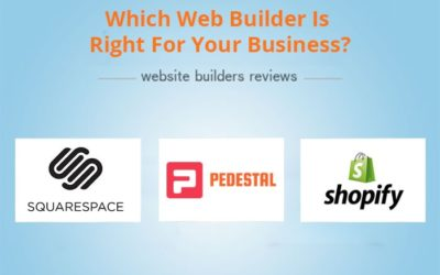 Which Web Builder Is Right For Your Business?