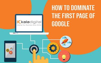 How To Dominate Google's First Page